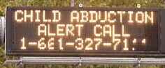 Child Abduction Alert